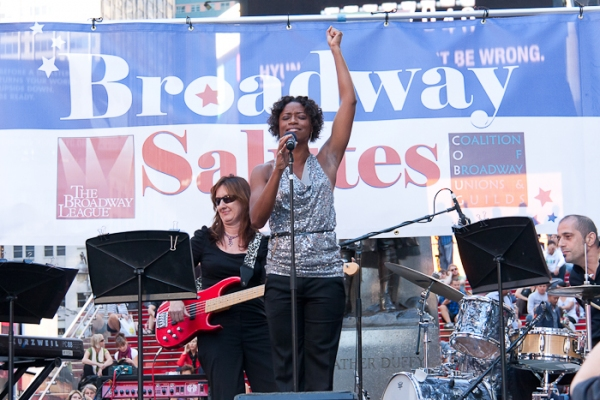 Photos: Glover, De Shields & More at 'Broadway Salutes'