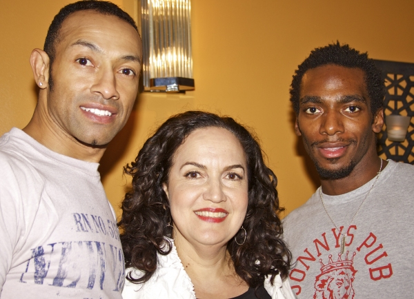 Michael Fielder, Olga Merediz and Daniel J. Watts