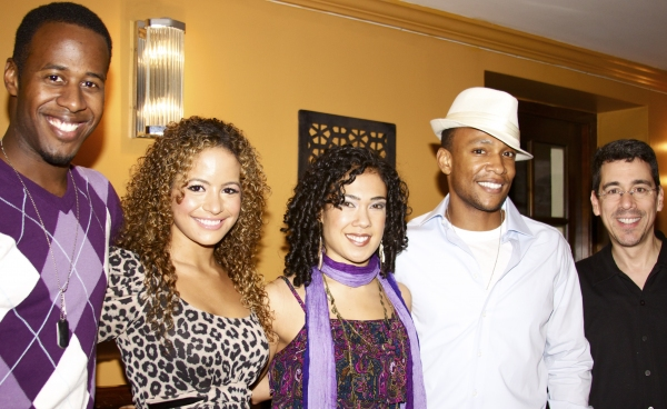 Marcus Paul James, Alejandra Reyes, Rosie Lani Fiedelman, Rickey Tripp and Tony Chiroldes