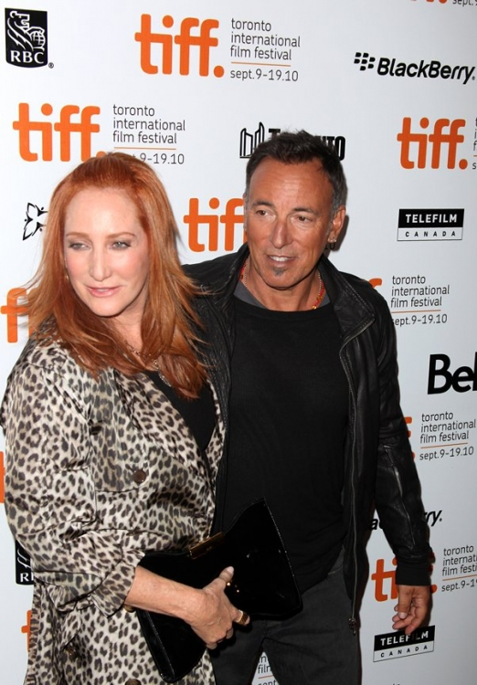 bruce springsteen wife patti. High Res Bruce Springsteen and Wife Patti Scialfa