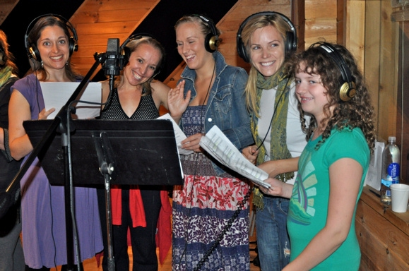Christy Ney, Alicia Albright, Stephanie Torns,  Katie Rose Clarke and Hope Fitzgerald Michelsen