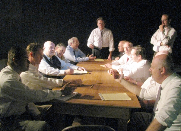 Vince Pileggi, John Helmke, Marco Newton, Tom Harrelson, Mitch Gerson, Ed Patton, Scott Fishman, Ken Ammerman, Jim Cordingley, Alex J. Campbell (obscured) and Ken Ambs
