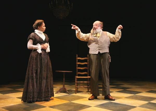 Tamara Tunie and John Ahlin