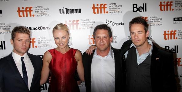 Ryan Phillippe, Malin Akerman, Director Steven Silver and Frank Rautenbach Photo