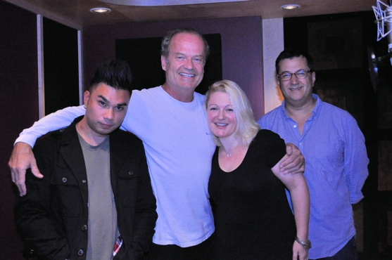 Andros Rodriguez, Kelsey Grammer, Lynn Pinto and Todd Ellison