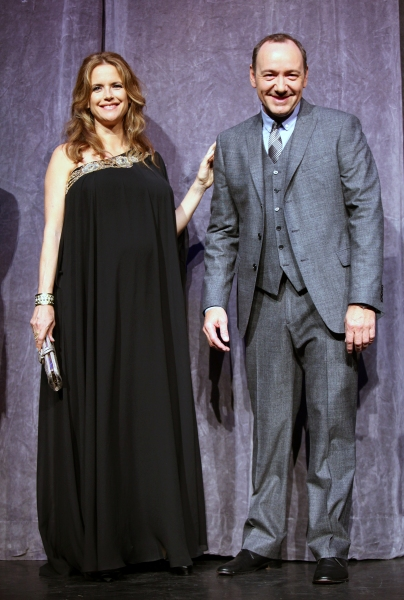 Kelly Preston and Kevin Spacey