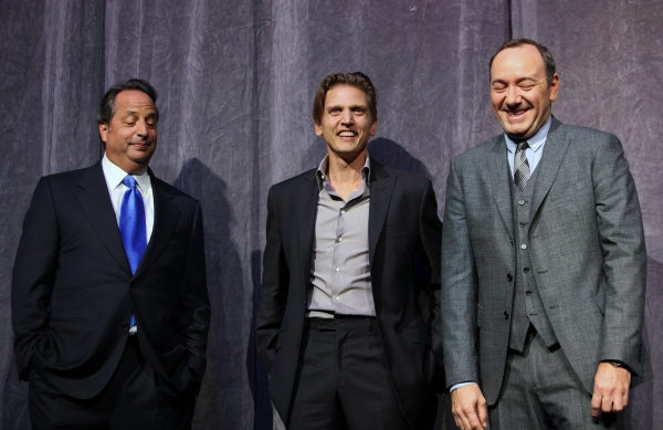 Jon Lovitz, Barry Pepper, and Kevin Spacey