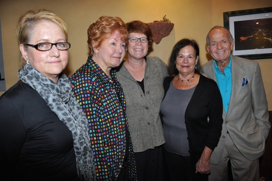 The Producers of Memphis-Loraine Boyle, Chase Mishkin, Sue Frost, Barbara Freitag and Buddy Freitag