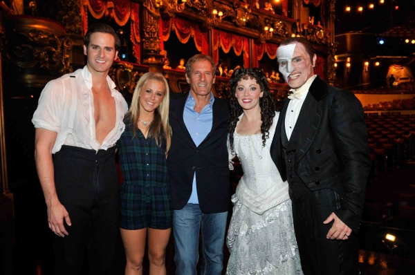 Photo Flash: Michael Bolton and DWTS Partner Chelsie Hightower Attend PHANTOM in Las Vegas