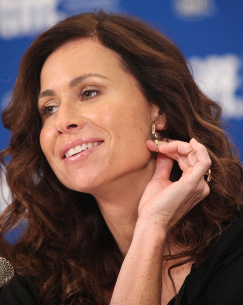 Minnie Driver  at CONVICTION Press Conference at the Toronto International Film Festival