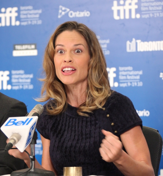 Photo Coverage: CONVICTION Press Conference at the Toronto International Film Festival