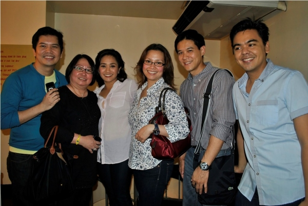 Carlo Orosa, Girlie Rodis, Joanna Ampil, Lea Salonga, Rob Chien, JM Rodriguez Photo
