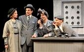 (L-R) Victoria Mack, Sam Gregory, Rob Nagle & Larry Paulsen at Review: DCTC Presents 'The 39 Steps'