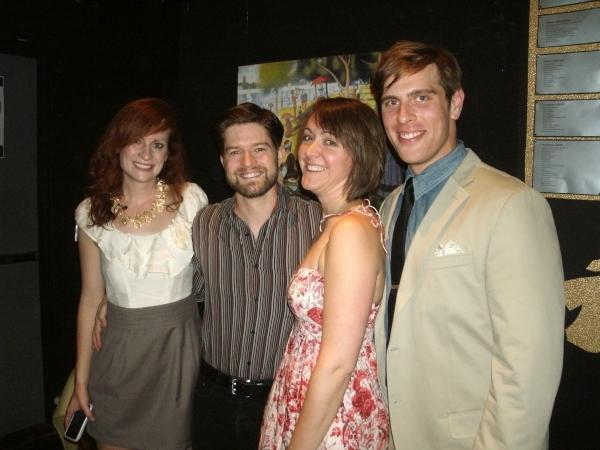 Jess Godwin, Shaun Nathan Baer, Kelly Hackett and Brandon Dahlquist