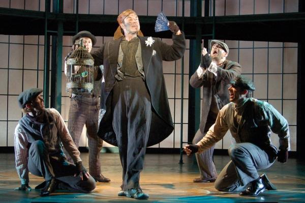 AJ Hughes(Hoxton Man); Jeremy Morse(Harry); Gary Troy(Alfred P. Doolittle); David Garry(Jamie); James Erickson