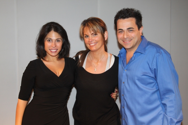 Gina Ferranti, Lynne Koplitz and Johnny Tammaro