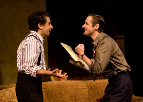 Brandon Uranowitz and  Joseph Parks in Broadway Bound at BRIGHTON BEACH MEMOIRS & BROADWAY BOUND at The Old Globe