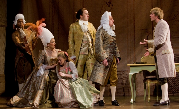 Photo Flash: Molina & Packard in Goodman's CANDIDE!