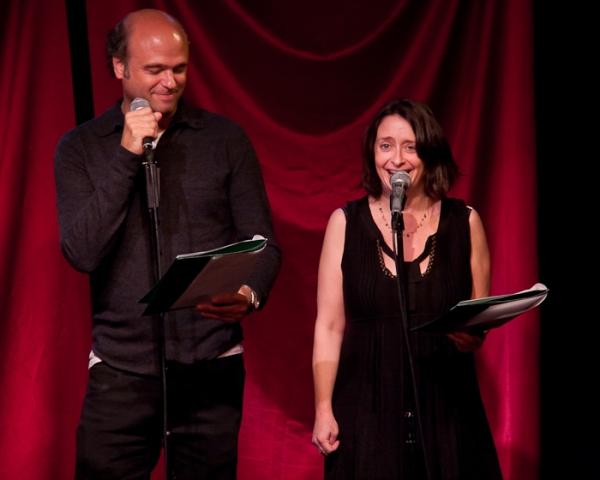 Scott Adsit and Rachel Dratch