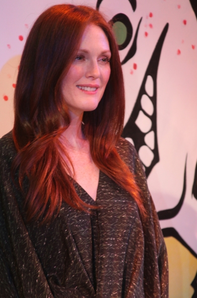 Photo Coverage: Julianne Moore Promotes FRECKLEFACE STRAWBERRY Musical!