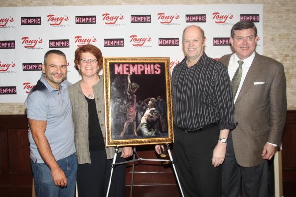 Joe DiPietro, Sue Frost, Randy Adams and Remmel Dickinson Photo