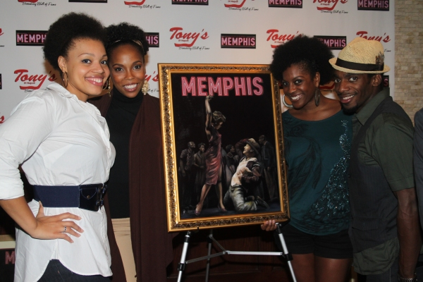 Carmen Ruby Floyd, Dionne Figgins, Dan'yelle Williamson and Daniel J. Watts at Tony di Napoli's Honors MEMPHIS!