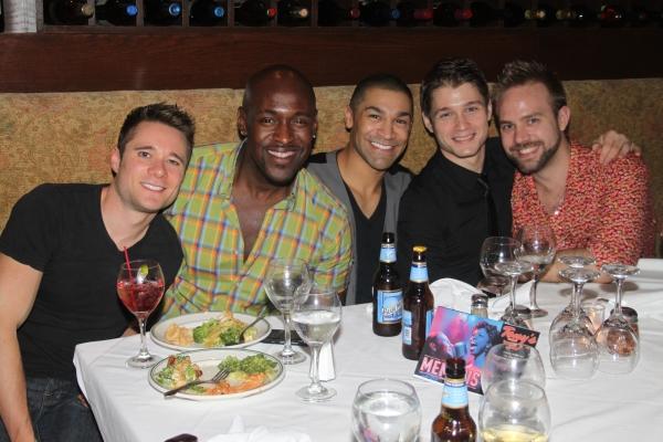 Jeffrey Alewine, John Eric Parker, Sam J. Cahn, Andy Mills and Ryan Moller Photo