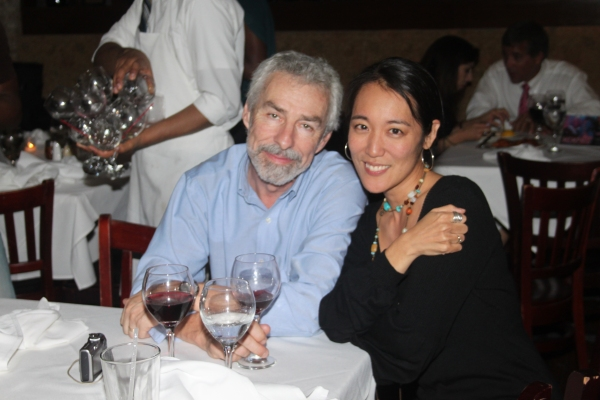 Arturo Porazzi and Janet Takami