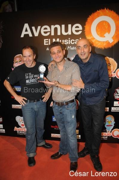 Eduardo Guerrero, Jeff Marx y David Ottone Photo