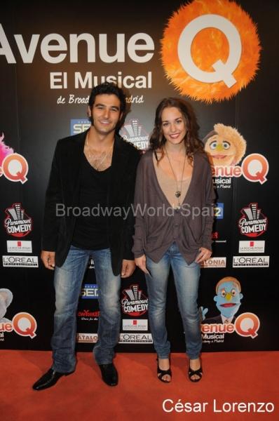 Antonio Velazquez y Silvia Alonso