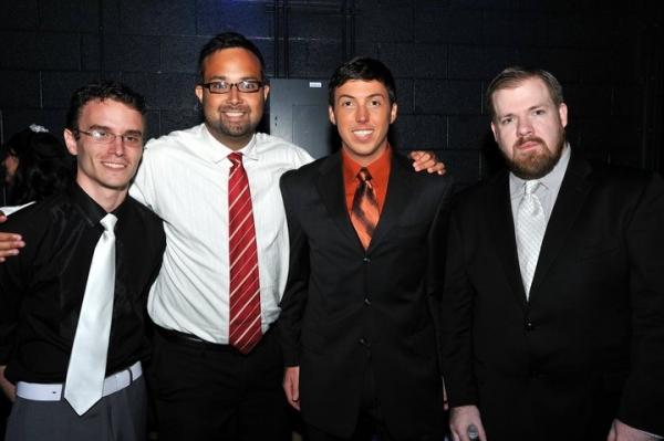 Alan Smith, Tyson Laemmel, Darin Richardson and Joshua Waldrep