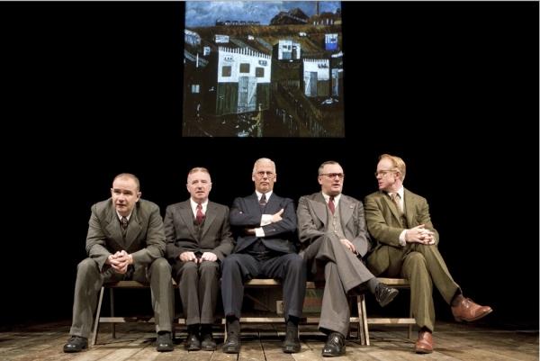Christopher Connell, David Whitaker, Deka Walmsley, Michael Hodgson, and Ian Kelly Photo