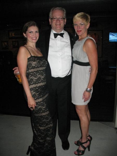 Jennifer Richmond, Jeffrey Ellis and Martha Wilkinson