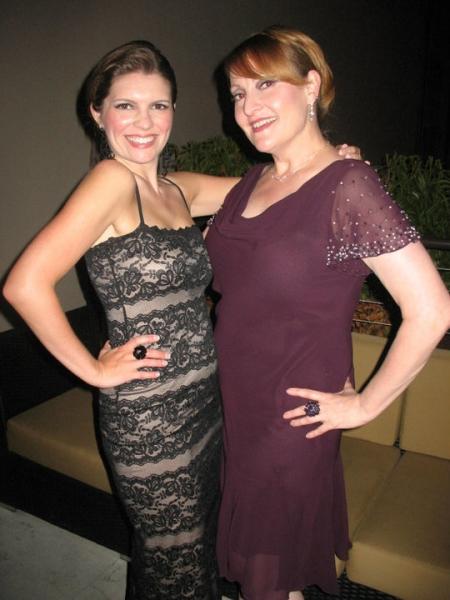 Jennifer Richmond and Lydia Bushfield
