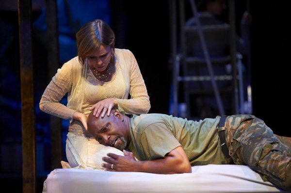 Sara M. Bruner and David Alan Anderson at OTHELLO Plays the Great Lakes Theater Festival Thru 10/31