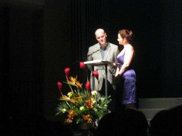 Jack Chambers and Megan Murphy Chambers