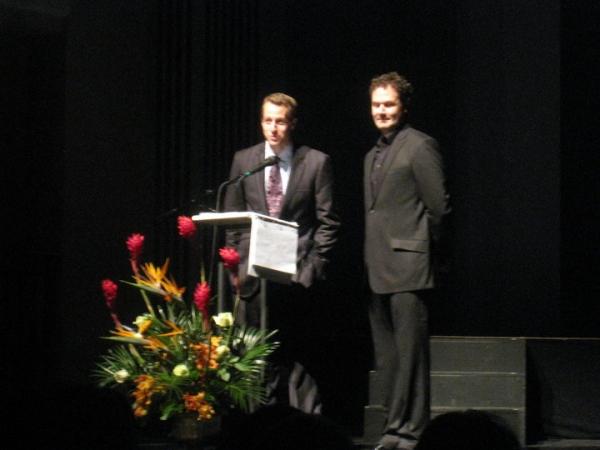 Jake Speck and Matt Logan