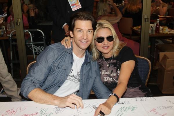 Photo Coverage: 2010 BC/EFA Flea Market - Celebrity Tables!