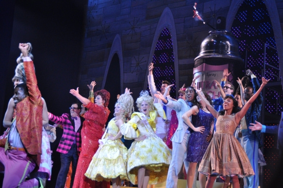 Lee Roy Reams, Christopher Sieber, Kathleen Elizabeth Monteleone, Donna English, Caliaf St. Aubyn, Alex Ellis, Arielle Campbell and The Cast of Hairspray