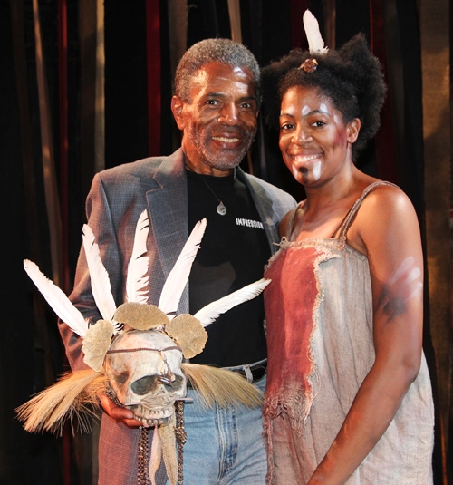 Andre De Shields and Tracy Jack