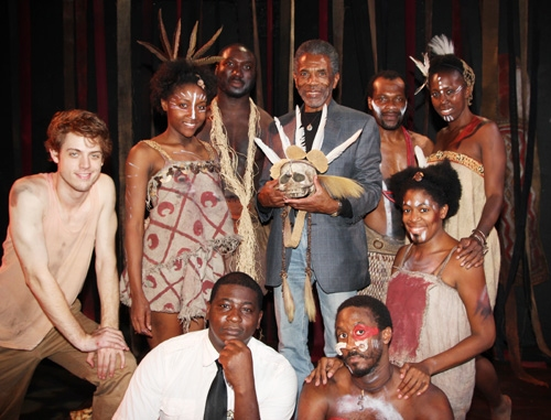 David Brown, Jr., Daniel Morgan Shelley, (Back Row L-R) Aaron Strand, Shannon A.L. Dorsey, David King, André De Shields, Tracy Jack, Rawle Fitz Williams and Tyshawna Maddox.