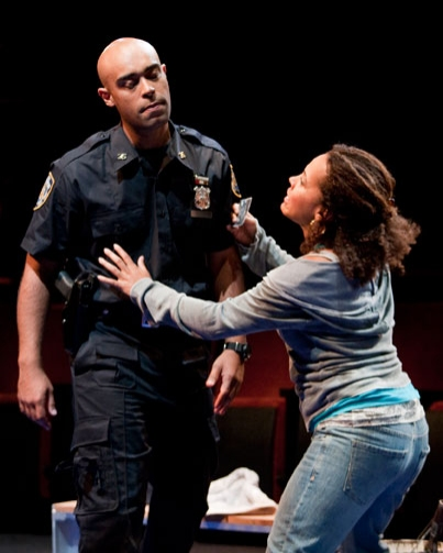 Byron Bronson and Amirah Vann