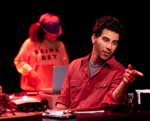 Amirah Vann and Andres Munar