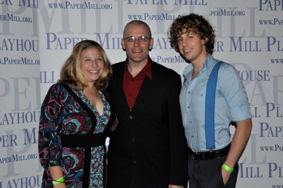 Andrea Cibelli (Assistant Stage Manager), Thomas J. Gates (Production Stage Manager)  Photo