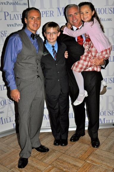 Larry Elardo, Stephen Hoebee-Elardo, Mark S. Hoebee and Ashley Hoebee-Elardo Photo