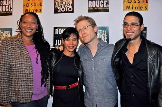 Photo Coverage: Luhrmann Opens NYMF 2010!