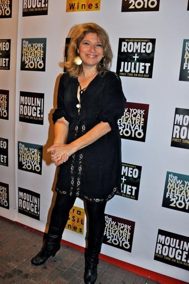 Liz Larsen at Luhrmann Opens NYMF 2010!