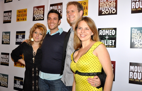 Liz Larsen, David Hein, Ravi Roth and Irene Sankoff