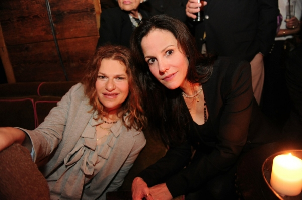 Sandra Bernhardt & Mary Louise Parker at Liza at The Rose Bar!