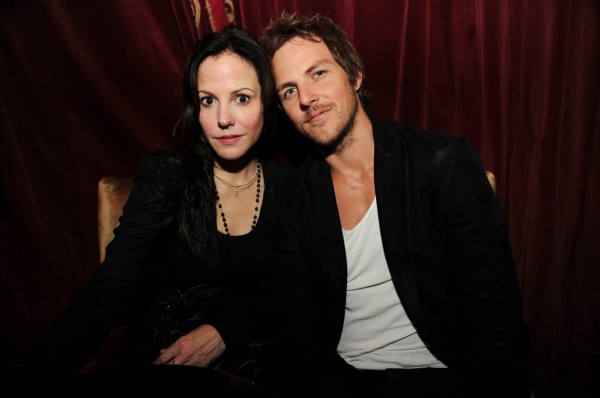 Mary Louise Parker and Charlie Mars